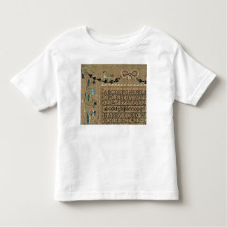 Sampler by N.Ford, 1799, New Hampshire Toddler T-Shirt