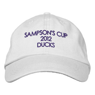 SAMPSON'S CUP 2012 DUCKS EMBROIDERED HAT