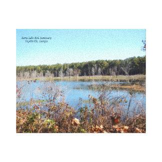 Sams Lake Bird Sanctuary Canvas Print