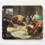 Samson betrayed by Delilah (oil on canvas) Mouse Mat