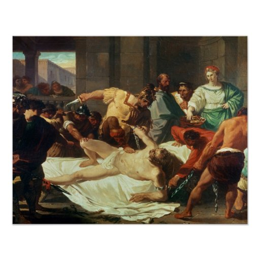 Samson betrayed by Delilah (oil on canvas) Poster