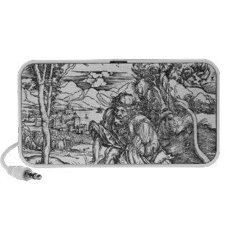 Samson slaying the lion, c.1496-98 iPod speaker