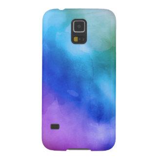 Samsung 5 Case - Watercolor Rainbow