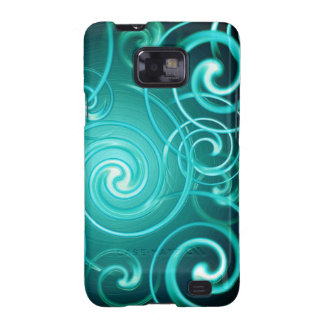 Samsung Cases spiral abstract space background Samsung Galaxy S2 Covers