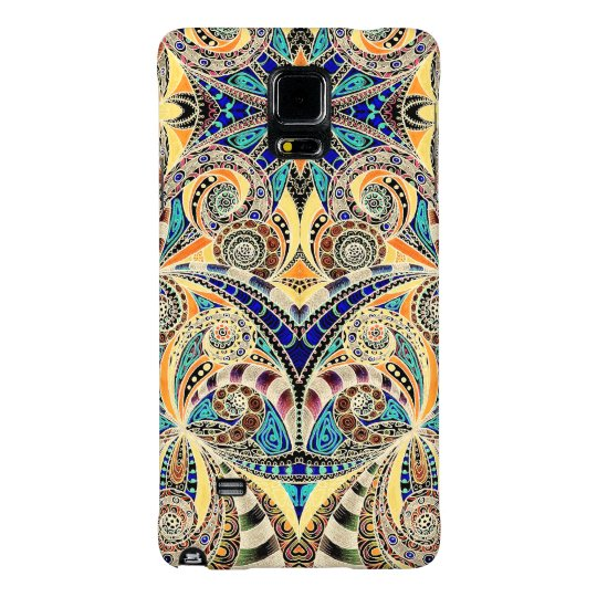 Samsung G Note 4 Drawing Floral Galaxy Note 4 Case
