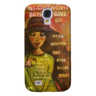 samsung galaxy 4s phone case, whimsical folk art galaxy s4 case