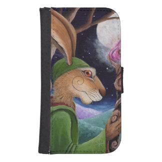 Samsung Galaxy Case, Matlock the Hare. Samsung S4 Wallet Case