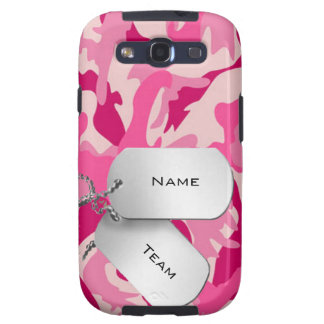 Samsung Galaxy S3 cover covering pink Camo