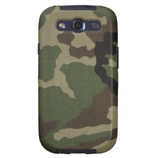 Samsung Galaxy S3 cover covering Woodland Camo