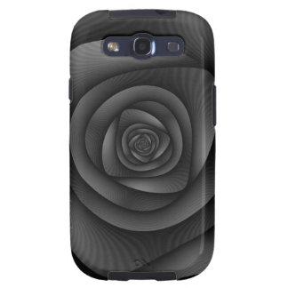 Samsung Galaxy S3  Spiral Labyrinth in Monochrome Galaxy SIII Covers