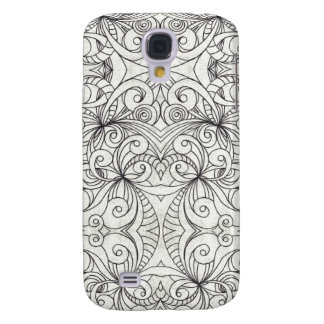 Samsung Galaxy S4 Barely There Drawing Abstract Galaxy S4 Case