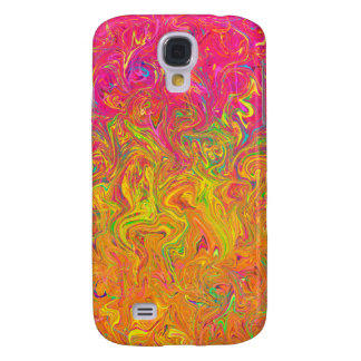 Samsung Galaxy S4 Barely There Fluid Colors Galaxy S4 Case