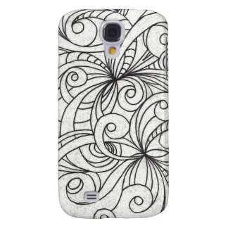 Samsung Galaxy S4 Floral abstract background Galaxy S4 Case