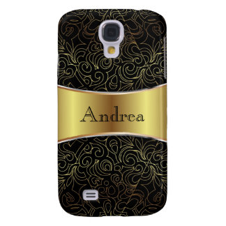 Samsung Galaxy S4 Floral Abstract Damasks Galaxy S4 Case