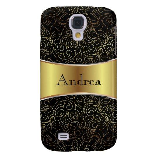 Samsung Galaxy S4 Floral Abstract Damasks Galaxy S4 Case