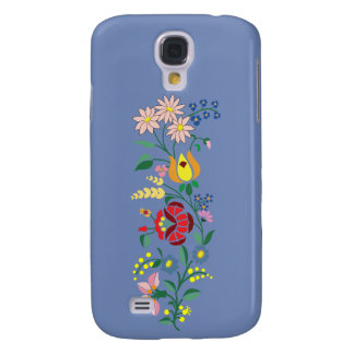 Samsung Galaxy S4- Flower Embroidery Galaxy S4 Case