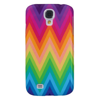 Samsung Galaxy S4 Retro Zig Zag Chevron Pattern Galaxy S4 Case