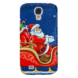 Samsung Galaxy S4 Santa Phone Case