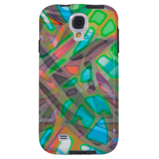 Samsung Galaxy S4 Vibe Colorful Stained Glass Galaxy S4 Case