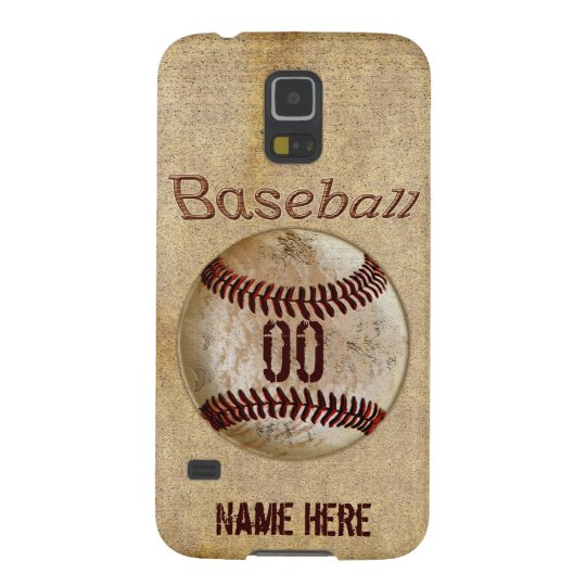 Samsung Galaxy S5 Baseball Phone Case PERSONALIZED