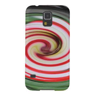 Samsung Galaxy S5 Case - candycane swirl
