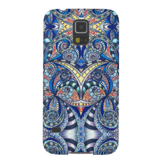 Samsung Galaxy S5 Case Drawing Floral