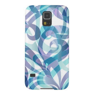 Samsung Galaxy S5 Case Floral abstract background