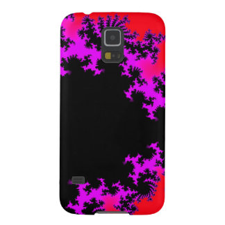 Samsung Galaxy S5 Case - fractal red / purple
