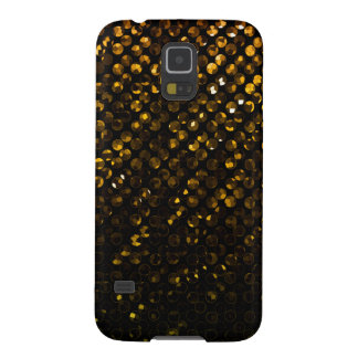 Samsung Galaxy S5 Case Gold Crystal Bling Strass