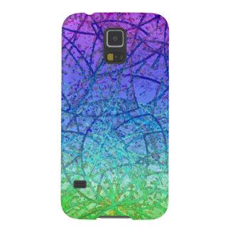 Samsung Galaxy S5 Case Grunge Art Abstract