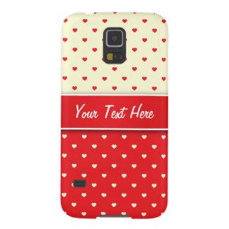 Samsung Galaxy S5 Case Hearts