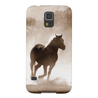 Samsung Galaxy S5 Case Horse Image  Sepia Color