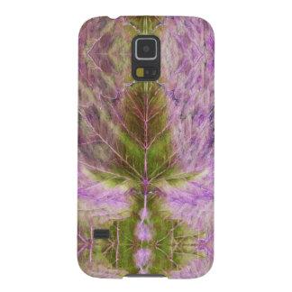 Samsung Galaxy S5 Case Leaf Drawing