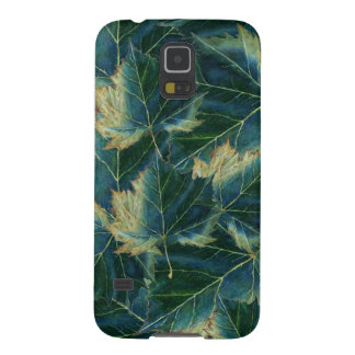 Samsung Galaxy S5 Case Leaves Drawing
