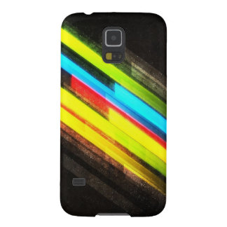 Samsung Galaxy S5 case with colorful lines