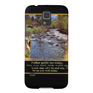 Samsung Galaxy S5 Christian prayer case