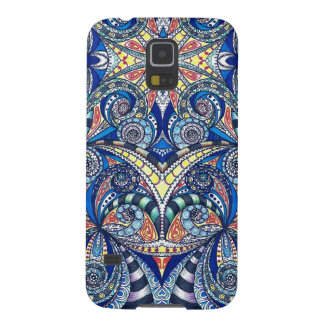 Samsung Galaxy S5 Drawing Floral Cases For Galaxy S5