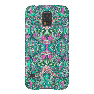 Samsung Galaxy S5 Drawing Floral Galaxy S5 Covers