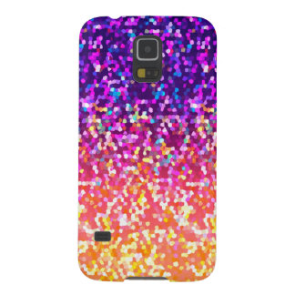 Samsung Galaxy S5 Glitter Graphic Background Case For Galaxy S5