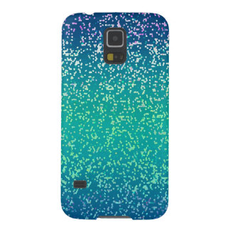 Samsung Galaxy S5 Glitter Graphic Background Galaxy S5 Cover