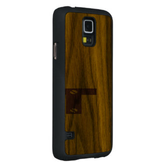 Samsung Galaxy S5 Harvested Wood Cover Walnut Galaxy S5 Case