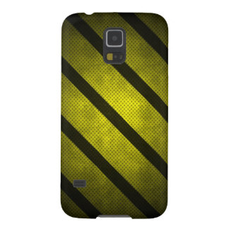 Samsung Galaxy S5 yellow case with black lines