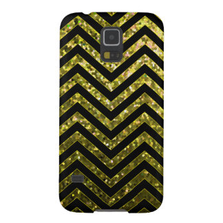 Samsung Galaxy S5 Zig Zag Sparkley Texture Galaxy S5 Cover