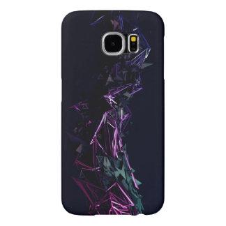 samsung Galaxy s6 , 3d_dark_traingles phone case