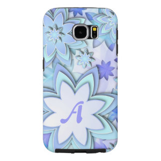 Samsung Galaxy S6 Case Abstract Lotus Flowers