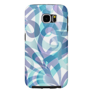 Samsung Galaxy S6 Case Floral abstract background