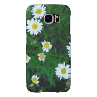Samsung Galaxy S6 Case Flowers Daisies