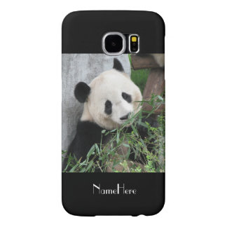 Samsung Galaxy S6 Case Giant Panda Black