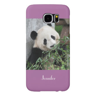 Samsung Galaxy S6 Case Giant Panda, Orchid, Purple