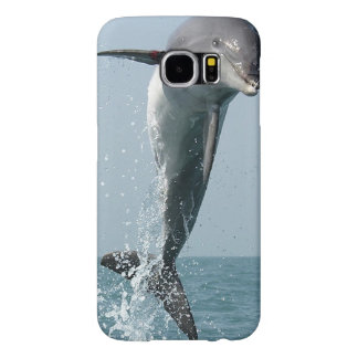 Samsung Galaxy S6 case with jumping dolphin photo